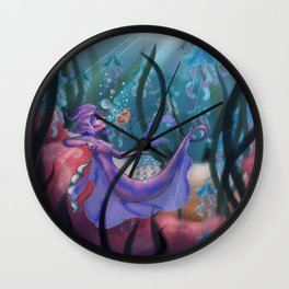 Jelly Queen Wall Clock