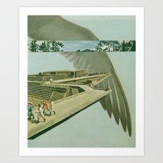 by air (full version) Art Print