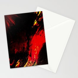 Abstract Heat by Robert S. Lee Stationery Cards