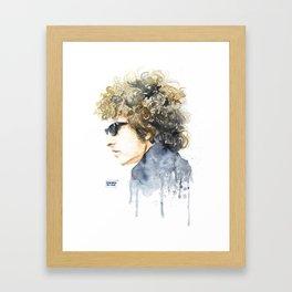 BobDylan Framed Art Print