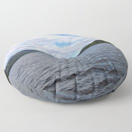 The Great Loch Ness Floor Pillow