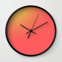 Sunsrise, Sunset  Wall Clock