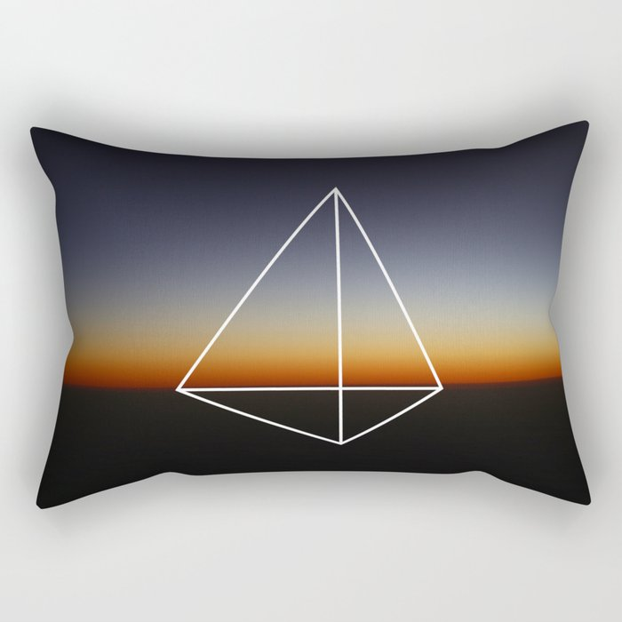 Geometry #20 Rectangular Pillow