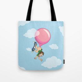 Don't Swallow Your Bubble Gum Tote Bag