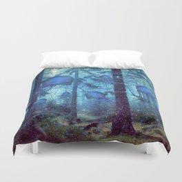 Magical Oceanic Forest Duvet Cover
