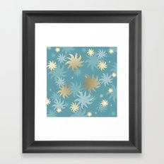CHRISTMAS STARS 01 Framed Art Print