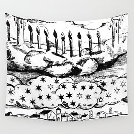 Mediaeval Northern Light Wall Tapestry