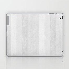 Gray Stripe Pattern Laptop & iPad Skin