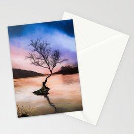 Llanberis Lake Tree Stationery Cards