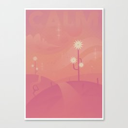 Relax - CALM Canvas Print