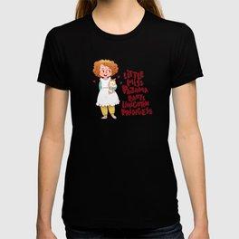 Little Miss Pajama Pants Unicorn Princess T-shirt