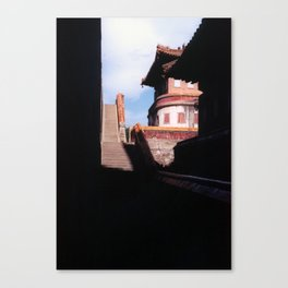 Tibetan Buddhist Temple - Chengde, China Canvas Print