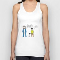 cookies Tank Tops featuring Cookies by theswagnessofbonnie
