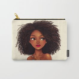 more curls Carry-All Pouch