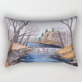 Ozark Stream  Rectangular Pillow