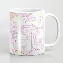 Vintage Map of Fort Myers Florida (1958) Coffee Mug