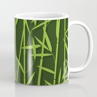 bamboo Mugs featuring BAMBOO by Rceeh