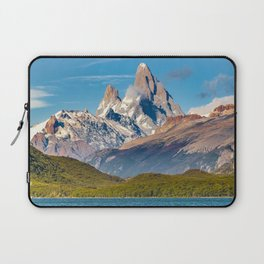 Lake and Andes Mountains, Patagonia - Argentina Laptop Sleeve
