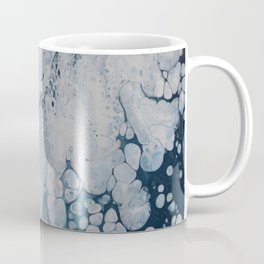 Frozen Waters Acrylic Pour Vector Coffee Mug