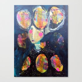 The Risk It Took To Blossom Canvas Print