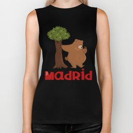 MADRID: Bear and Madrono (v.2) Biker Tank