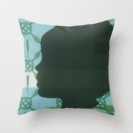 Lawn study 3 Throw Pillow