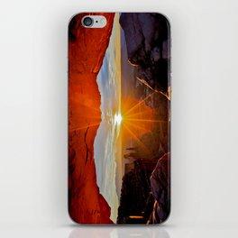 Mesa Arch Sunrise , Canyonlands Utah iPhone Skin