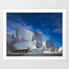 Los Angeles Concert Hall (Frank Gehry Architecture) Art Print