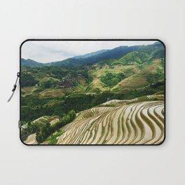 DRAGON'S BACKBONE // Longji Rice Terraces Laptop Sleeve
