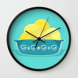 Pyrex til Death Wall Clock