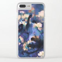 A Cat's Dream Clear iPhone Case
