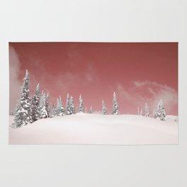 Red sky Rug