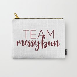 Team Messy Bun Carry-All Pouch