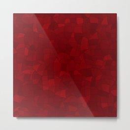 Geometric Shapes Fragments Pattern 2 dr Metal Print