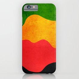 Flag Reggae iPhone Case