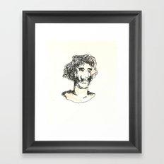 El Baron Framed Art Print