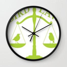 Bird Law Philadelphia (ALWAYS SUNNY) Wall Clock