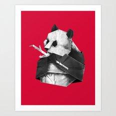 Pandagami Art Print