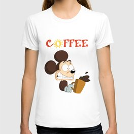 Coffee Mouse T-shirt