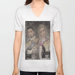 Drake and Denica shirts hoodies in movie shirts Unisex V-Neck