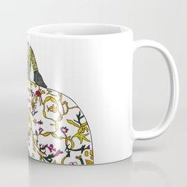 1760s mid Georgian historical costume figure Coffee Mug