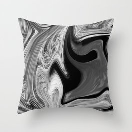CONFUSE - BLACK Throw Pillow
