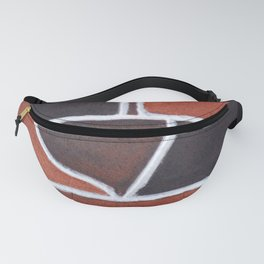 Stone wall colour 5 Fanny Pack