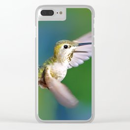 Grace in Motion Clear iPhone Case