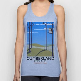 Cumberland England Unisex Tank Top