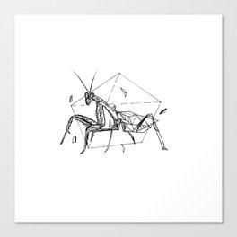 Geometric Season1:5 Mantis Canvas Print
