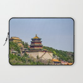 Tower of Buddhist Incense Laptop Sleeve