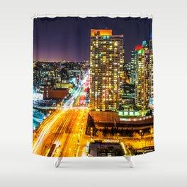 Toronto Colour Shower Curtain