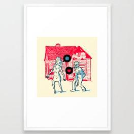 Same old story Framed Art Print
