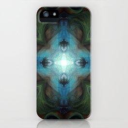 Sea Turtle Moon iPhone Case